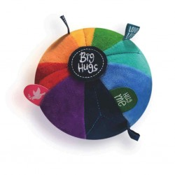 Sensory speelbal regenboog