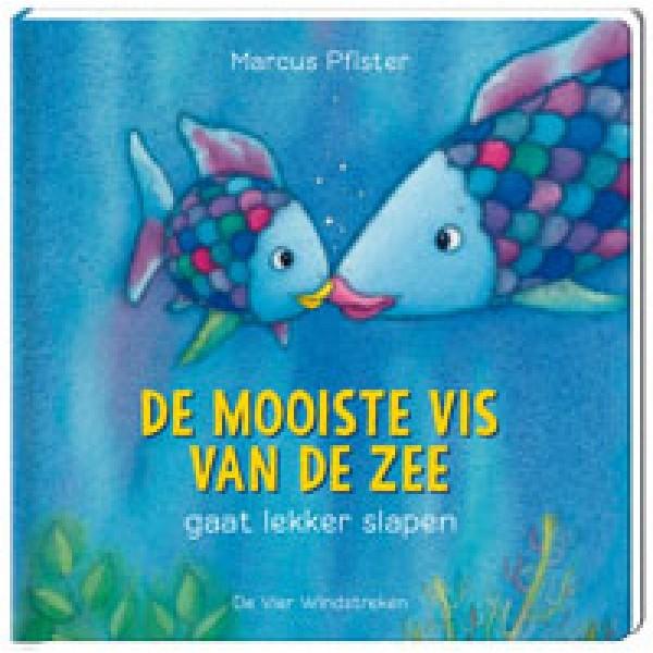 De mooiste vis van de zee gaat lekker slapen (kartonboek)
