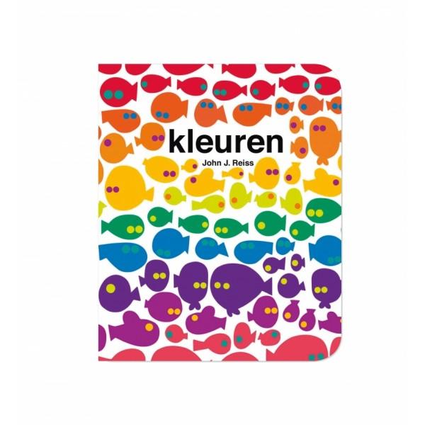 Kleuren kartonboekje