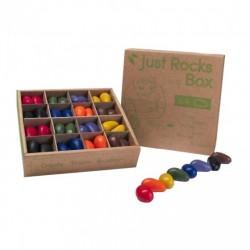 Crayon Rocks: klasverpakking 64 soja waskrijtjes in 8 kleuren