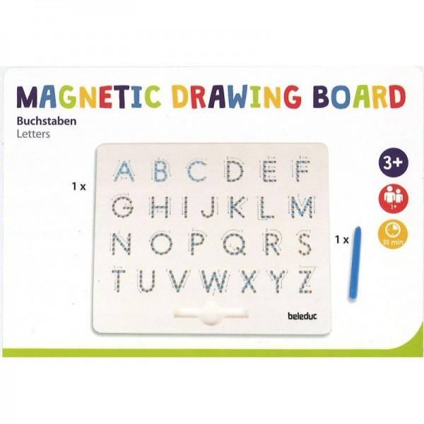 magnetisch schrijfbord alfabet
