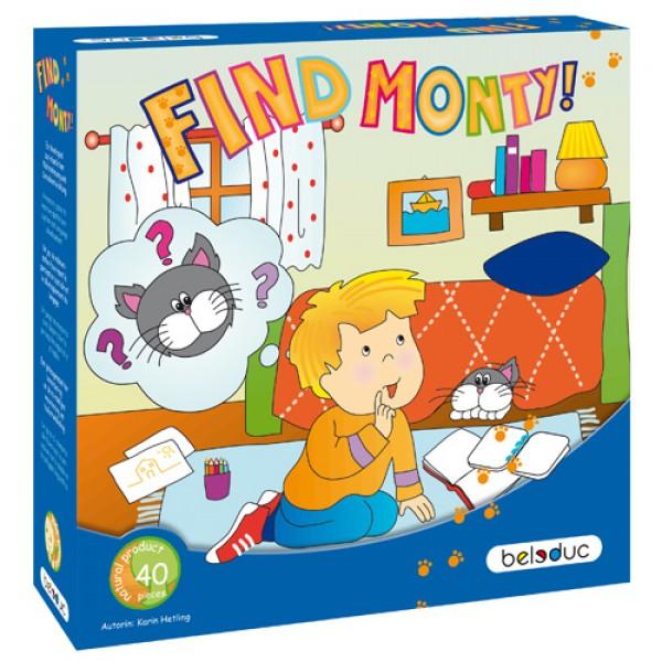 """Ruimtelijke begrippen spel """"Find Monty!"""" Beleduc"""