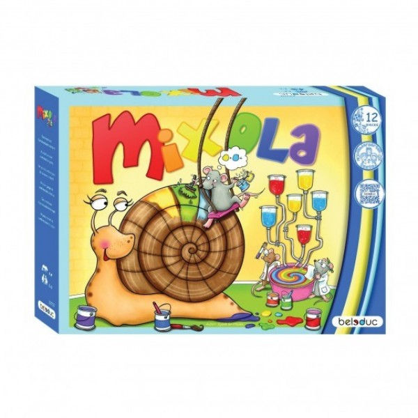 Mixola - kleuren leren gezelschapsspel
