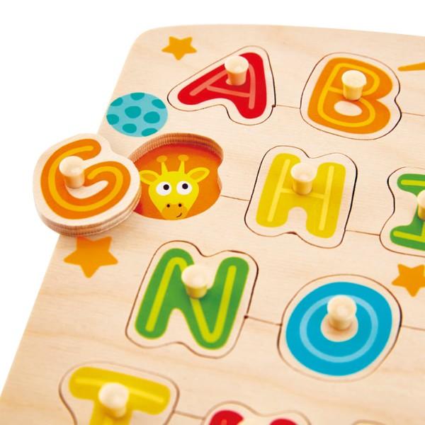 insteekpuzzel alfabet