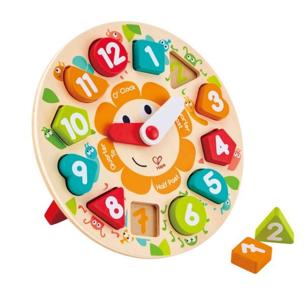 cijfers leren klok puzzel