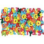 Vilten letters set: Large 8 cm 150 stuks
