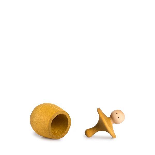 Little things geel - tolletje in doosje - grapat 2021