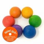 6 houten ballen -Grapat