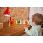 18 Sticks houten figuurtjes - Grapat