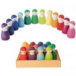 12 regenboogvriendjes van Grimms - Pré order
