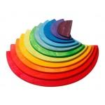 Grimms halve bogen regenboog