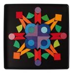 magneetspel basisvormen met glinsterstenen - Grimms