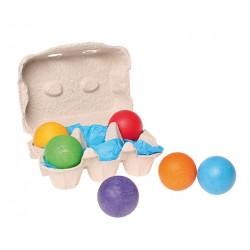 Grimm`s 6 Houten ballen