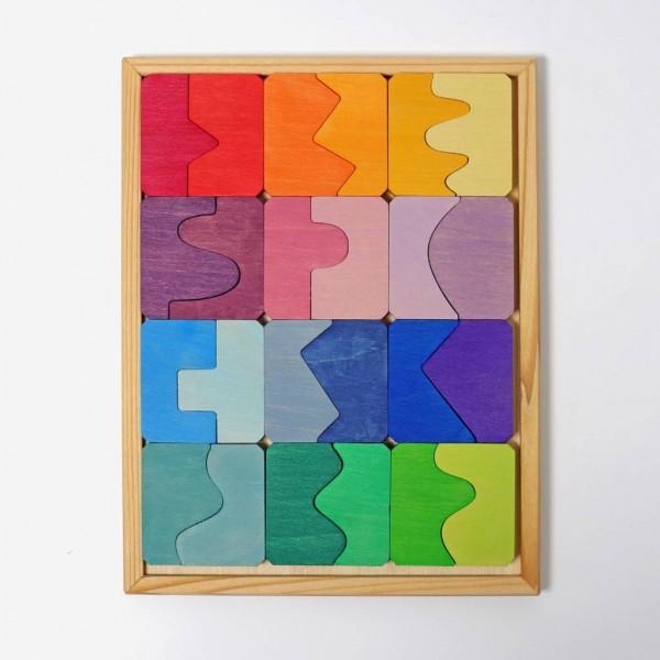 puzzel bouwset concaaf convex