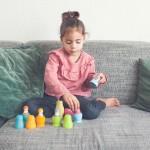 zintuiglijk spel russische poppen pastel