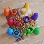 zintuiglijk spel Russische poppen Regenboog van Grimms