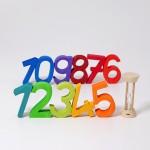 Houten cijfers Grimms 1 tot 10