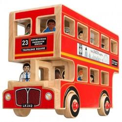 Luxe Londen bus Lanka Kade