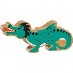 Groene draak - houten dieren