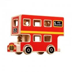 Dubbeldekker city bus Lanka Kade