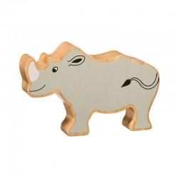 Neushoorn - houten dieren