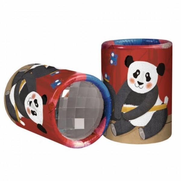 mini kaleidoscoop thema panda