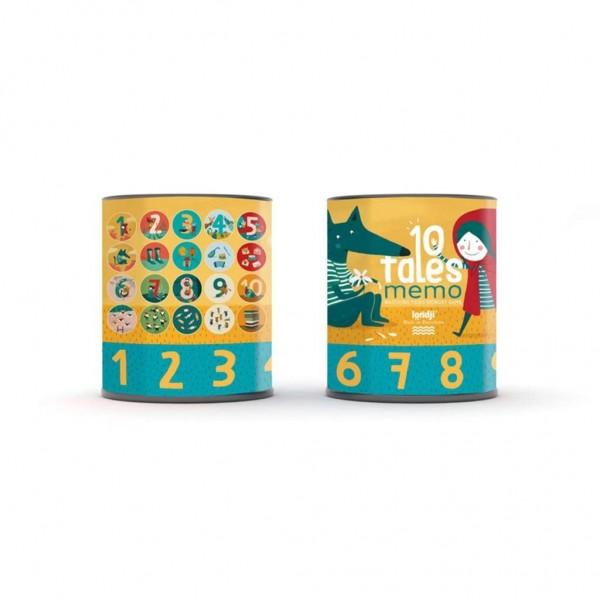 10 tales cijfer memory spel