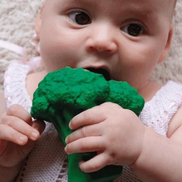 Fruit & veggies Brucy brocoli bad- en bijtspeeltje