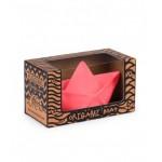 origami bootje roze natuurrubber