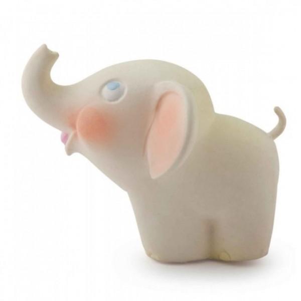 bad- en bijtspeelgoed vintage olifant natuurrubber