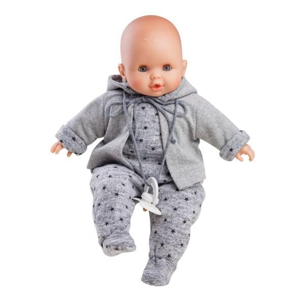 Zachte babypop Alex - 36cm met huil mechanisme