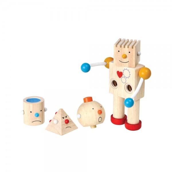emotierobot build a robot Plan Toys