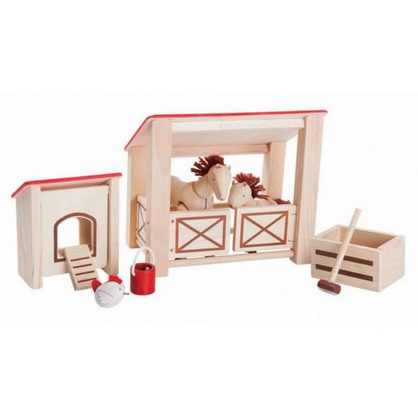Paardenstal Plan Toys