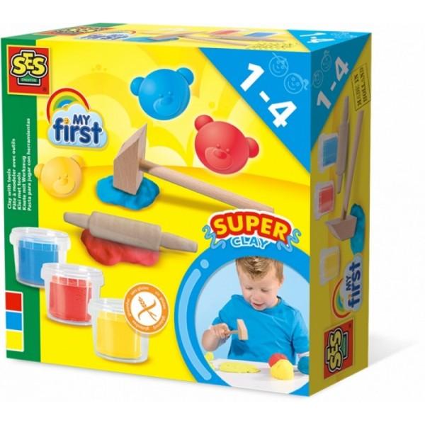 My First - zachte speelklei met gereedschap