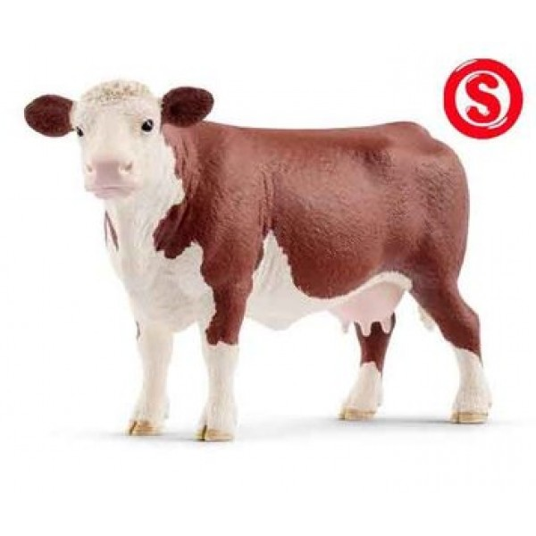 hereford koe - schleich diertje