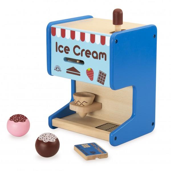 praktische houten ijsmachine