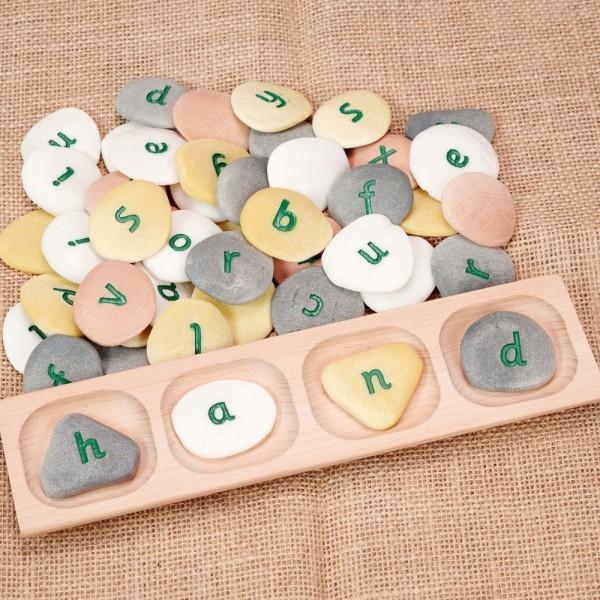 drie en vier letter woorden sorteerschaal