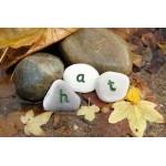 Alfabet speelstenen - woorden maken set van 50