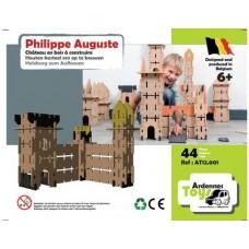 Houten kasteelset Philippe Auguste
