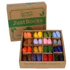 Crayon Rocks: klasverpakking 64 soja waskrijtjes in 16 kleuren