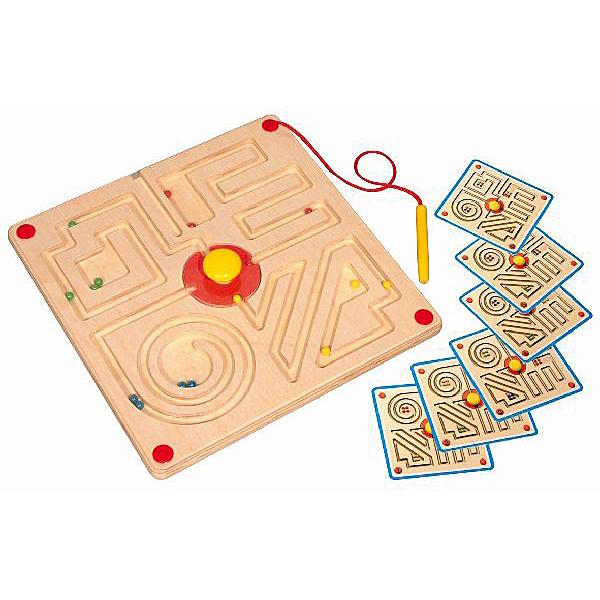 magneetspel doolhof