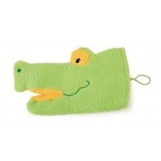 Swach washandje krokodil