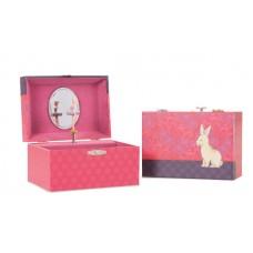 muzikaal juwelenkoffertje konijntje
