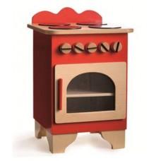 fornuis / keukentje rood