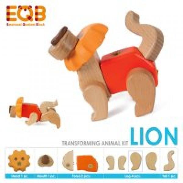 EQB bouwkit leeuw