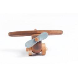 houten vliegtuigje