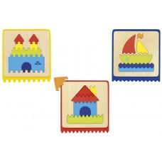 Set van 3 voelpuzzels