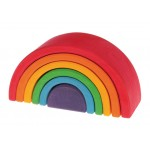 Vrolijke regenboog medium
