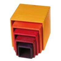 kleine stapelblokken: gele set