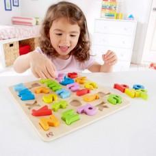 puzzel alfabet kleine letters